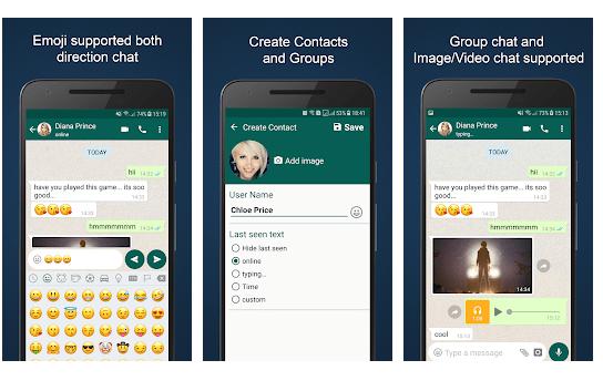 fake chat maker Creare False Conversazioni Con Whatsapp
