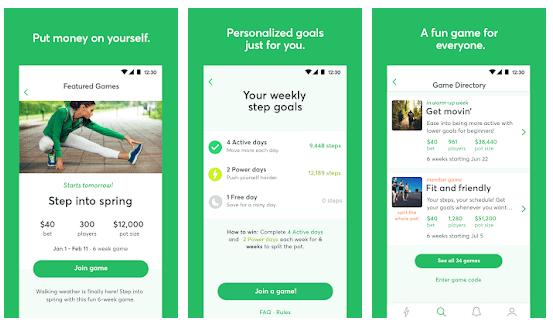 stepbet app per camminare