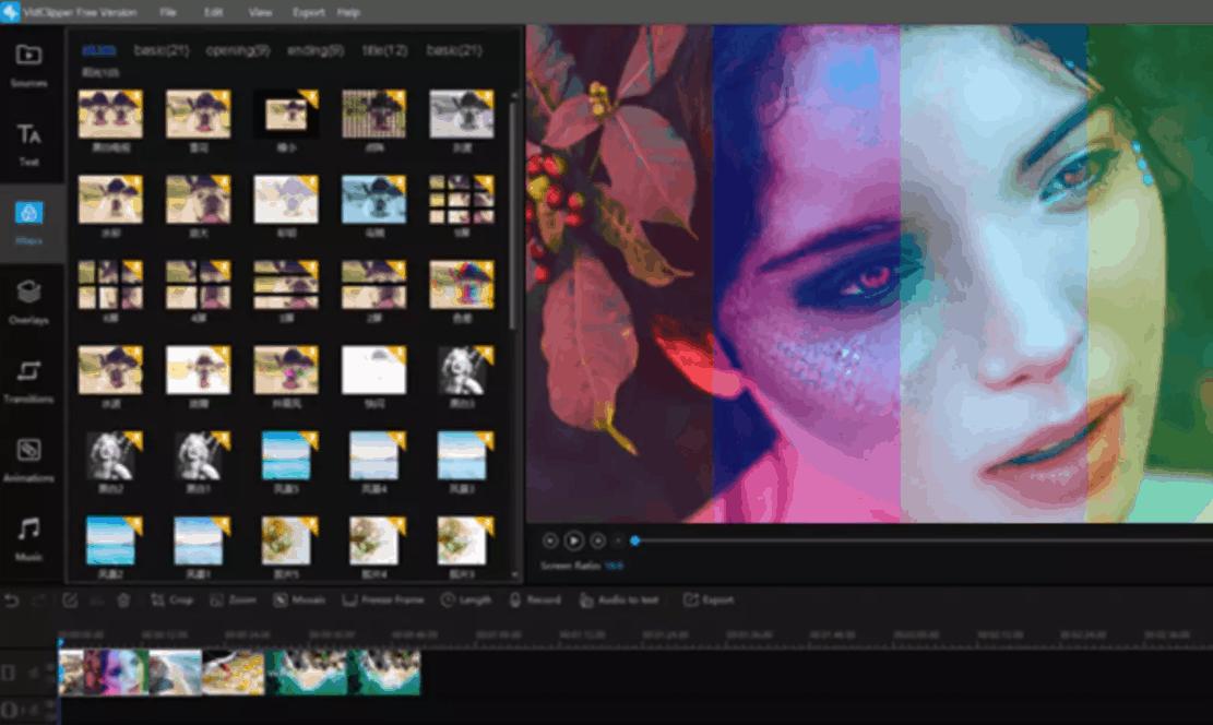 Come Modificare un Video di Tik Tok con VidClipper Editor