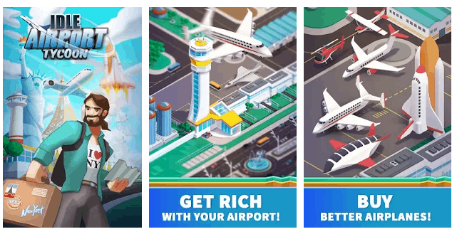 Idle Airport Tycoon – Tourism Empire game