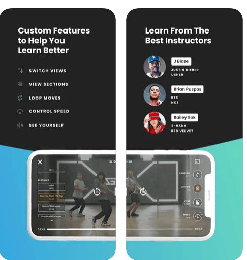 Steezy app per fare ballare i bambini