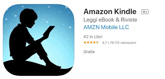 kindle App per Leggere Libri Gratis con Iphone