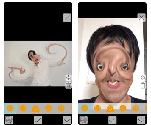 individual face app divertente