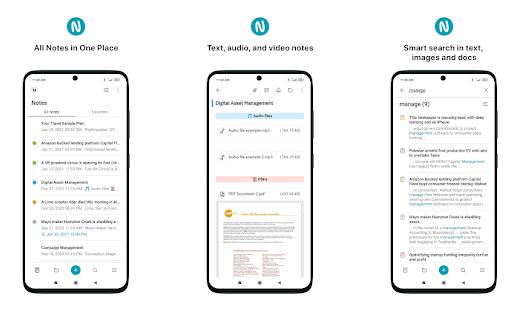 nimbus app per android note