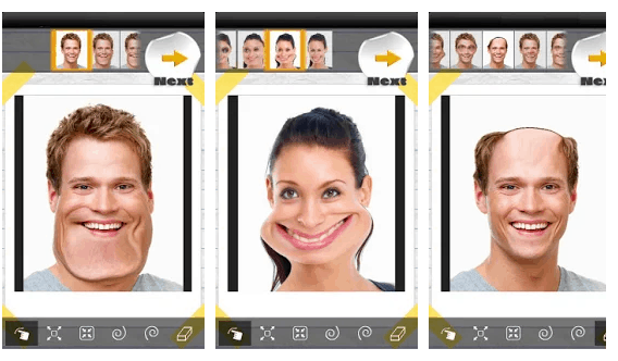 funny face app divertente