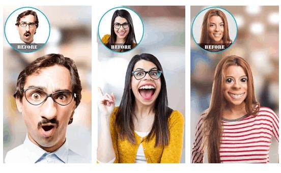face warp - App Divertenti Per Modificare il Viso