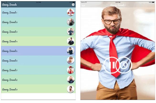 suoni Fastidiosi per Android e iOS