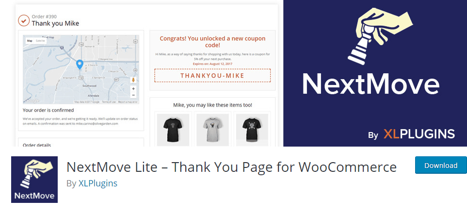 Plugin per Ringraziamento di WooCommerce