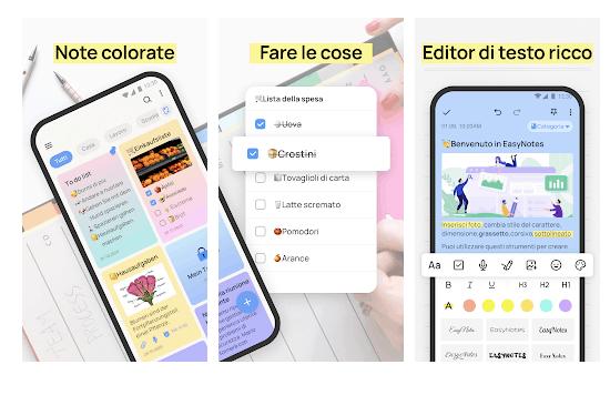 Easy Notes - È Meglio di Google Keep?