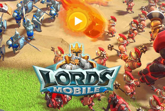 Lords Mobile, un mondo fantasy medievale