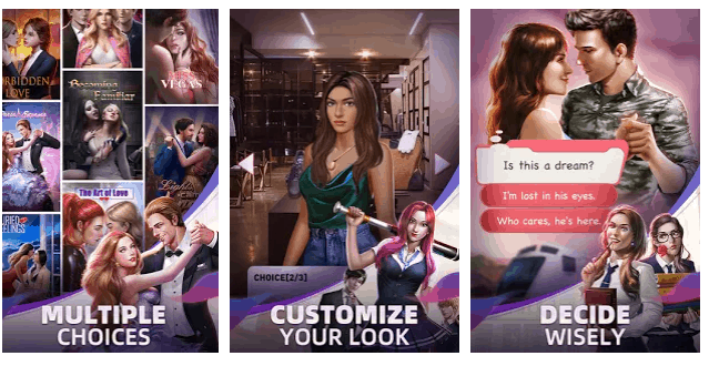 romance episode app Android