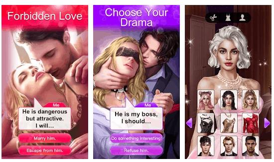 fancy love storie interattive