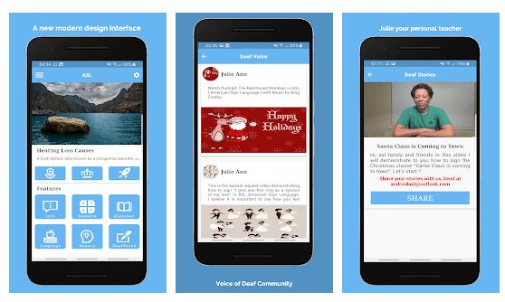 Applicazioni sul Linguaggio Dei Segni per Android e iOS