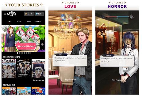 Giochi di Storie Interattive per Android
