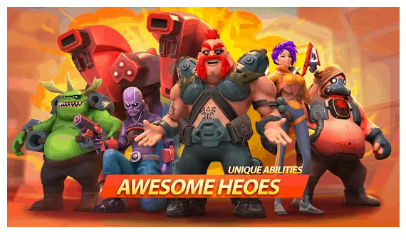 Recensione di Mad Heroes - Frag Hero Shooter