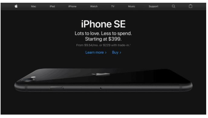apple ecommerce