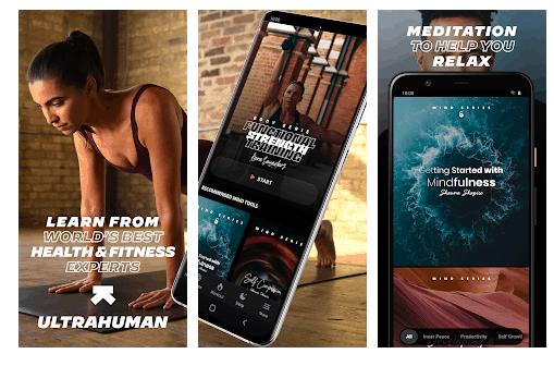 Ultrahuman: L'app Per Rilassarsi e Meditare