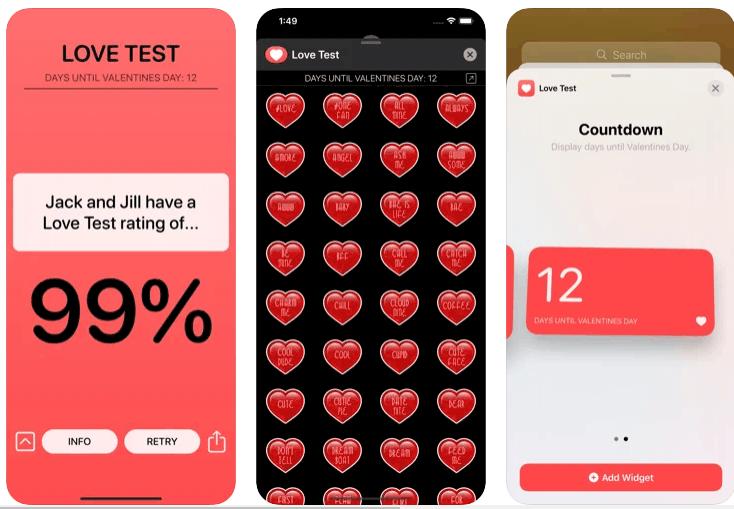 love test compatibility applicazioni per copie